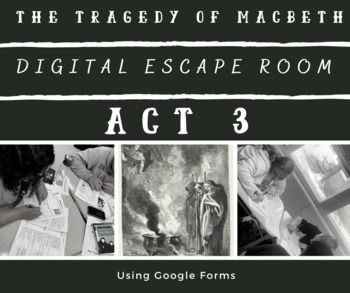 Macbeth Act 3 Test Worksheets Teaching Resources TpT