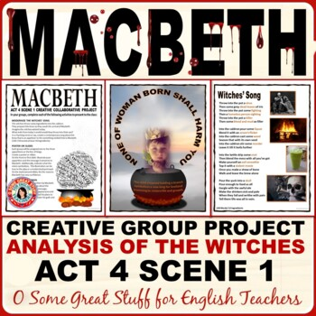 Macbeth Act 4 Scene 1  Analysis of the Witches