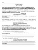 Macbeth - Act I - Figurative Language