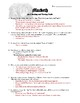 Macbeth: Act I Questions (two different formats)