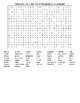 Macbeth Act I and Act II Vocabulary Crossword & Word Search and KEYs