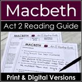 Macbeth Act 2 Literature Guide