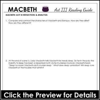 Macbeth study questions.