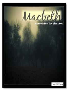 Macbeth Act One Activity Pack