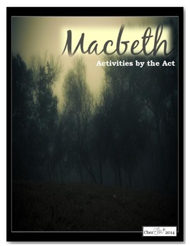 Macbeth Act Two Activity Pack