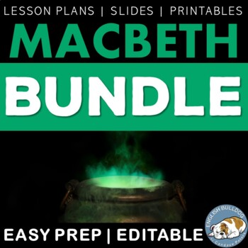 Macbeth Activity Bundle