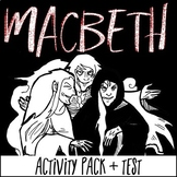 Macbeth Activity Pack: Includes Interactive Notes, Test, a