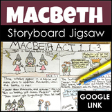 Macbeth Activity for a Storyboard Jigsaw