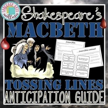 Macbeth Anticipation Activity