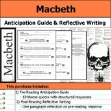 Macbeth - Anticipation Guide & Reflection