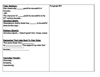 Macbeth Argumentative Essay (MLA)