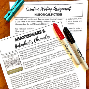 Macbeth BUNDLE:  Supplementary Materials for Any Macbeth Unit