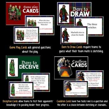 Macbeth Board Game
