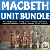 Macbeth Unit Bundle (Shakespeare)