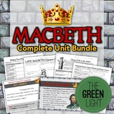 Macbeth Bundle: Unit Plan, Worksheets, Projects, PowerPoints, Essays