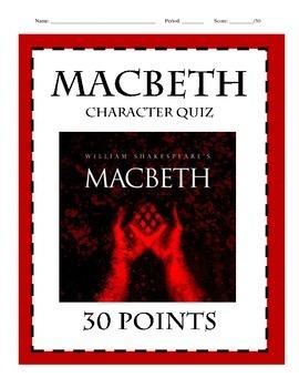 Macbeth Character Quiz