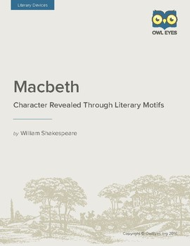 Macbeth: Character Revealed Through Literary Moments