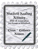 Macbeth Claim * Evidence * Reason Packet