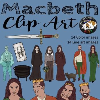 Macbeth Clip Art Set 1