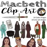 Macbeth Clip Art Set 1