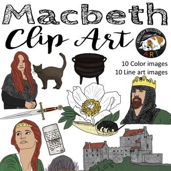 Macbeth Clip Art Set 2