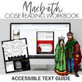 Macbeth Close Reading Workbook