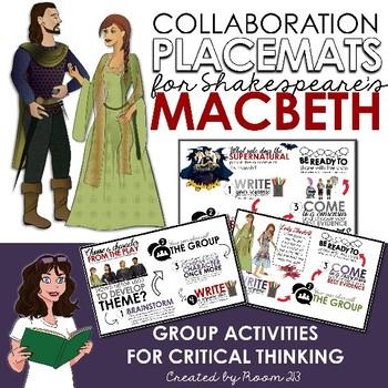 Macbeth: Collaborative Placemats