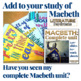Macbeth Coloring Pages Pennant Banners