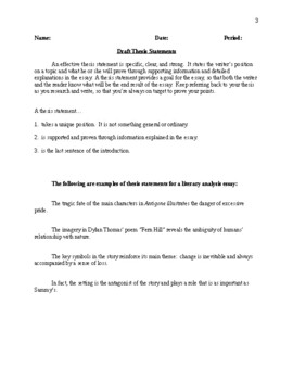Macbeth - Comprehensive Essay Assignment/Packet - CCSS Aligned