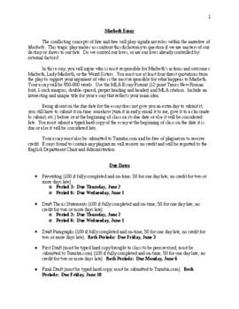 comprehensive essay