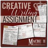 Macbeth Creative Writing Assignment