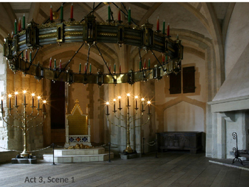 Macbeth Digital Scenery - William Shakespeare