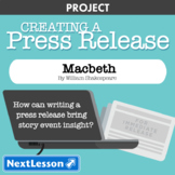 Macbeth: Event Press Release - Projects & PBL