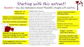 Macbeth - Exam Preparation & Revision Unit (New GCSE English Literature)