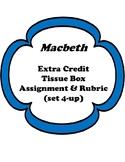 Macbeth Extra Credit Tissue Box Project