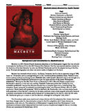 Macbeth Film (2015) Study Guide Movie Packet