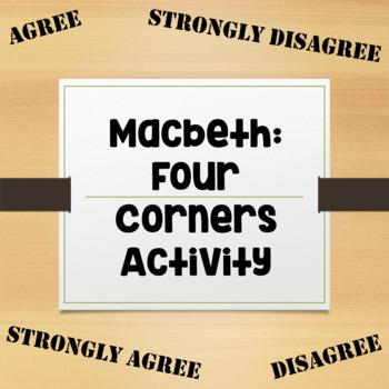 Macbeth: Four Corners Activity
