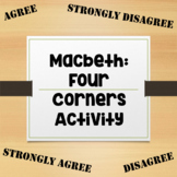 Macbeth: Four Corners Activity