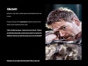 Macbeth Full Unit Plan (6-8 Weeks)