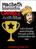 Macbeth Interactive Games & Activities