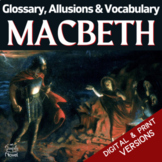 Macbeth Glossary, Allusions & Vocabulary Lists | GOOGLE - DISTANCE LEARNING