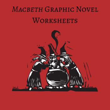 Macbeth Graphic Novel by Gareth Hinds Worksheets