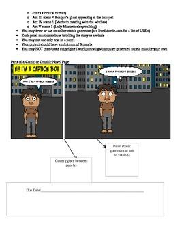 Macbeth Graphic Novel/Comic Book final project