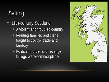 Macbeth Historical Context PowerPoint