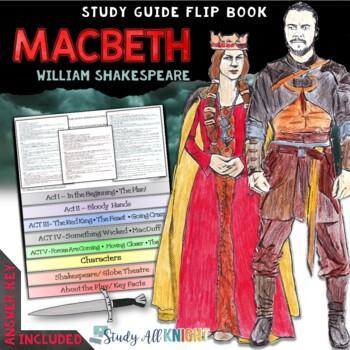 MACBETH: READING LITERATURE GUIDE INTERACTIVE LAYERED FLIP BOOK