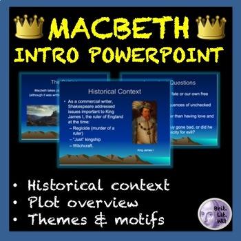 Macbeth Intro PowerPoint