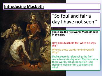Macbeth - Introducing Macbeth and Banquo