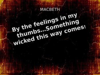 Macbeth Introduction Presentation