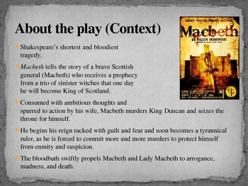 Macbeth Introductory PowerPoint