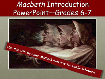 Macbeth Introductory PowerPoint—Grades 6 and 7